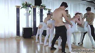 Czech parties secretaries Ballerinas