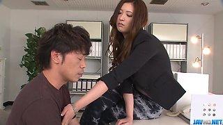 Yui Kasuga feels pleasure in extreme porn scenes - More at javhd.net