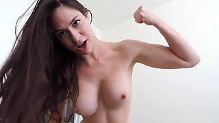 strong girl beats your ass