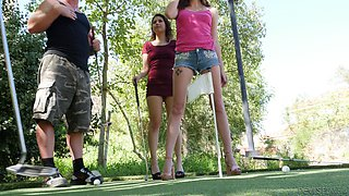 Penelope Reed and Jessica Rex fuck a couple of men in a part