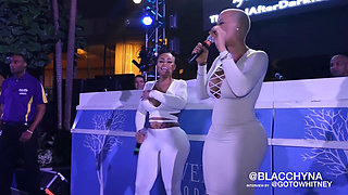 Amber Rose & Blac Chyna (Engagement Congrats) 1080p