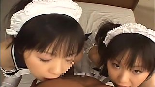 Hottest Japanese chick in Best POV, Maid JAV video