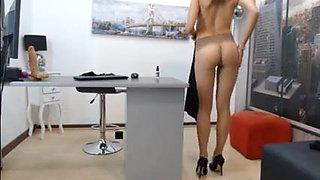 The sexy girls trampling pantyhose