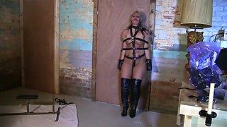Adara Jordan Pony Slave training,