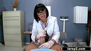 LEROYZ - Naughty Nurse Veronica Avluv gets a Facial