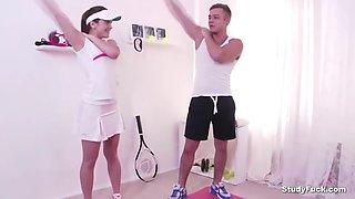 fucking in tennis class