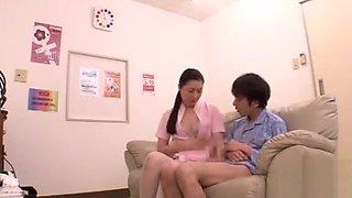 nurse in semen Collection Room
