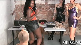 hard spanking and suffocating fisting clip 1