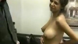 Great natural boobs milk dirty old man
