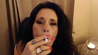 MATURE SMOKING w/ CEI out of my big ass for your first ever cum feast
