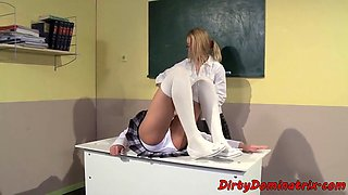 Tiedup euro dominated by her mistress