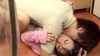 Incredible Japanese whore Nana Aoyama in Hottest Big Tits, Kitchen JAV movie