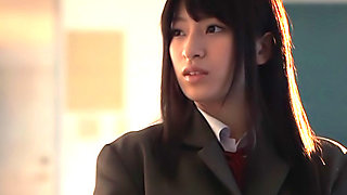 Young Ruri Narumiya gets fucked at school