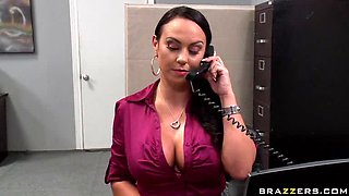 Huge Office Slut Mariah Milano Gets Fucked Hard In High Heels