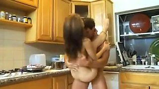 Fucking Stepdaughter in the Kitchen