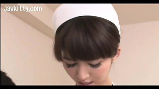 Japan Nurse Is Busty and Super Horny