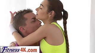 fitness coach banging hot teen