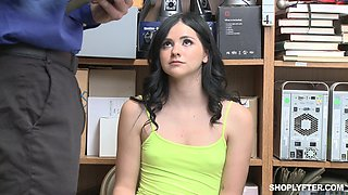 Office action with Violet Rain getting pounded by her boss