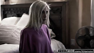 PURE TABOO Piper Perri Takes Daddy's Creampie to Shut Him Up