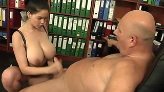 Fabulous amateur Secretary xxx video