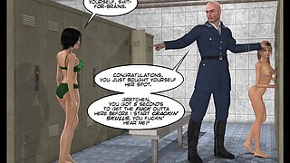 This Comics For A Big Boy And Girls @ 3d Comic: Freehope. Episode 2