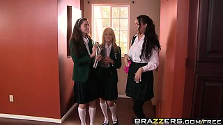 Brazzers - Big Tits at School -  Drilled by t