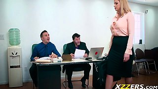 Brooklyn Chase Office Late Fuck hard