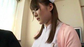 Momoka Nishina in Beauty Nurse Visit to Massage part 1