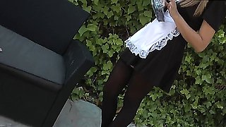 cute teen maid anal fuck