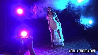 Glamour shoot with Ariella Ferrera