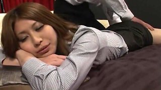 Crazy Japanese girl in Exotic Massage, Cunnilingus JAV clip