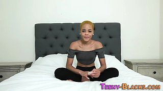 Bendy black teen pounded