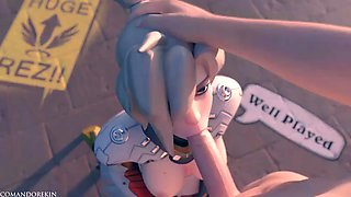 Overwatch mercy animation music compilation