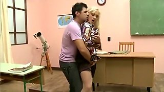 Hot Teacher in Nylons Analyzed