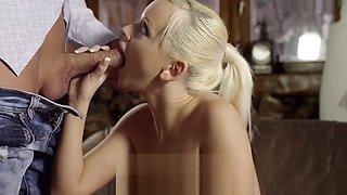 Another hot defloration of virgin pussy of Ravas Rocka