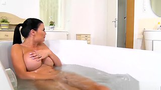 Fucking stepmom in the bathtub