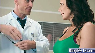 Doctor seduced and hard bang a horny sexy patient (reagan foxx)