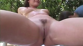 Woman with an amazing booty seduced by a horny fellow