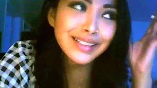 Smoking asian girl 2